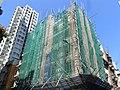 HK Sheung Wan 11 Tai Ping Shan Street construction site view Kee On Building Oct-2012.JPG