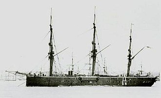 HMS Audacious (1869) - Image: HMS Audacious (1869)