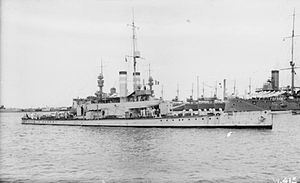 HMS Ladybird Port Said 1917 IWM SP 000560.jpg