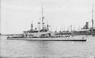 HMS Ladybird (1916) - Image: HMS Ladybird Port Said 1917 IWM SP 000560