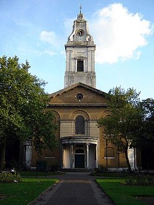 Hackney (parish) - St John's parish church, Hackney. (September 2005)
