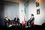 Hafez al-Assad visit to Iran, 1 August 1997 (1).jpg