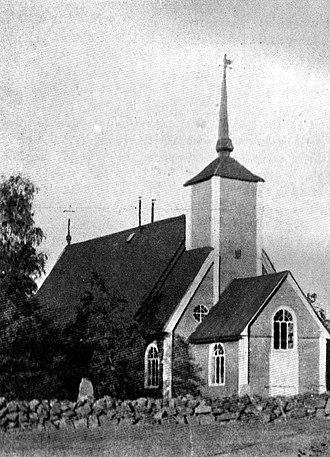 Hailuoto - Image: Hailuoto Old Church