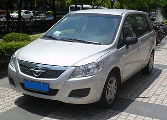Mazda Premacy - 2010–2014 Haima Freema front (China)
