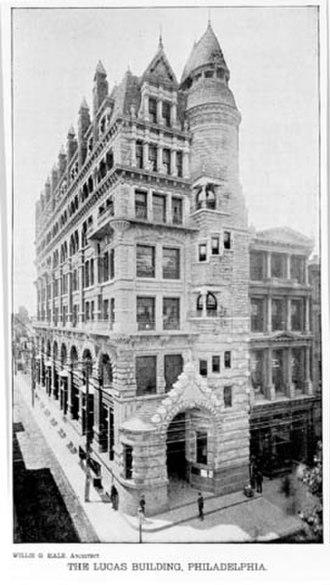 Edward Maene - Hale (Lucas) Building (1887).