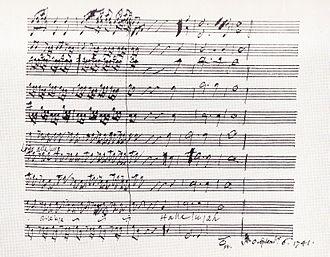 Messiah Part II - Image: Hallelujah score 1741