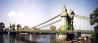 Hammersmith - Hammersmith Bridge
