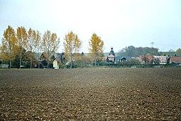 View to the village Hammerstedt