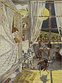 Hans Baluschek, Illustration - Little Peter's trip to the Moon, In der Kinderstube.JPG