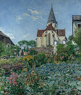Hans Tichy Austrian painter