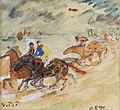 Hans von Faber du Faur Pferderennen 1915.jpg