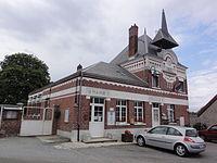 Happencourt (Aisne) mairie.JPG
