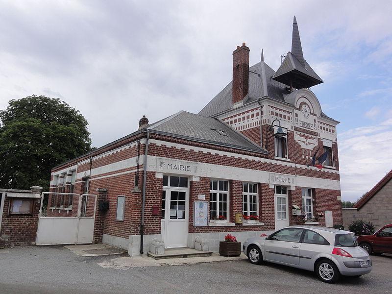 Happencourt (Aisne) mairie