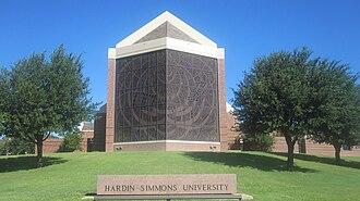 Hardin–Simmons University - Image: Hardin Simmons Charles Logsdon Bldg., Abilene, TX IMG 6377