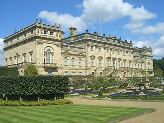 Harewood House - Harewood House, seen from the garden