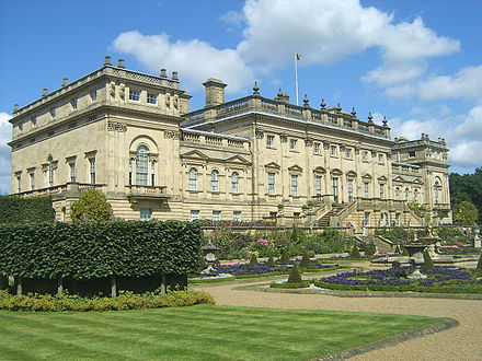 Harewood House Harewood House, seen from the garden.JPG