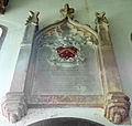 Harlaxton Ss Mary and Peter - interior South Chapel Mem 03.jpg