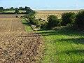 Harvested farmland, Aldworth - geograph.org.uk - 526045.jpg