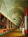 Hau. Interiors of the Small Hermitage. The Southern Part of the Romanov Gallery. 1864.jpg