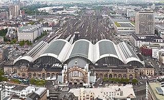 Frankfurt (Main) Hauptbahnhof main railway station in Frankfurt, Germany