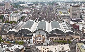 Köln–Frankfurt high-speed rail line - Frankfurt Hauptbahnhof