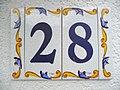 Hausnummer Keramik 28.JPG