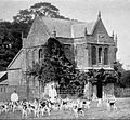 Hawking or Falconry Tower at Althorp 1901.jpg