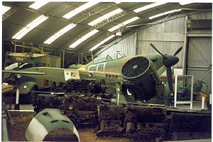 Kent Battle of Britain Museum - Image: Hawkinge. geograph.org.uk 52761