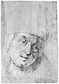 Head of a Pope(?) (recto); Two Studies of Left Hand (verso) MET 271665.jpg