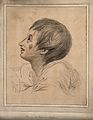 Head of a boy representing a boy listening to Jesus Christ s Wellcome V0009203.jpg