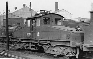 Heaton TMD - Ex-NER No.26500/BR Class ES1 at Heaton Shed