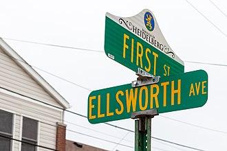 Heidelberg, Pennsylvania - Heidelberg street signs