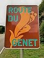 Heiderscheidergrund, panneau Route du genêt.jpg