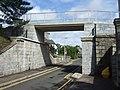 Heightened bridge over Hardgate - geograph.org.uk - 833298.jpg