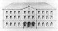 Heilbronn Alter Bahnhof Aufriss ca 1848.png