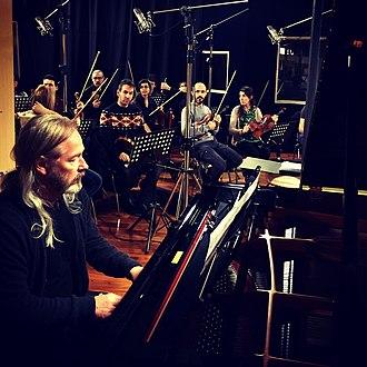 "Helmut Ditsch - Helmut Ditsch recording his first album ""Del Final de los Tiempos"" in Buenos Aires (June 2016)"