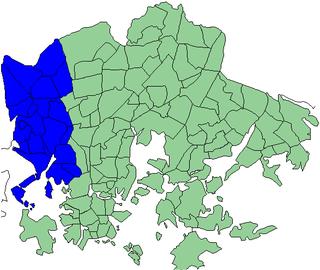 Western major district of Helsinki major district of Helsinki, Finland