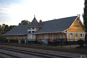 Seventh Avenue Depot District - Hendersonville Depot, September 2012
