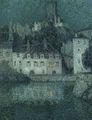 Henri Le Sidaner - White houses at Quimperle - 1919.jpg