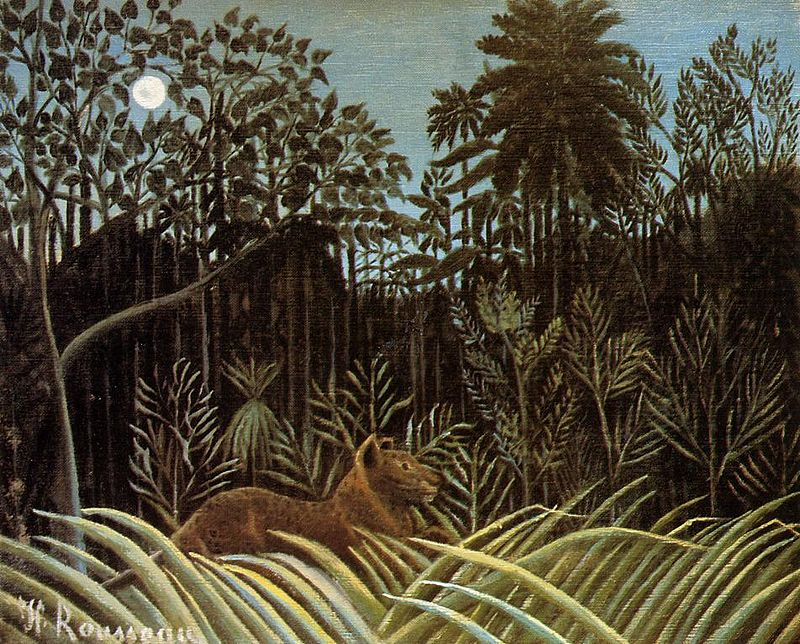 https://upload.wikimedia.org/wikipedia/commons/thumb/1/13/Henri_Rousseau_-_Jungle_with_Lion.jpg/800px-Henri_Rousseau_-_Jungle_with_Lion.jpg