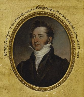 Massachusetts's 7th congressional district - Image: Henry Williams Dwight by John Trumbull 1827