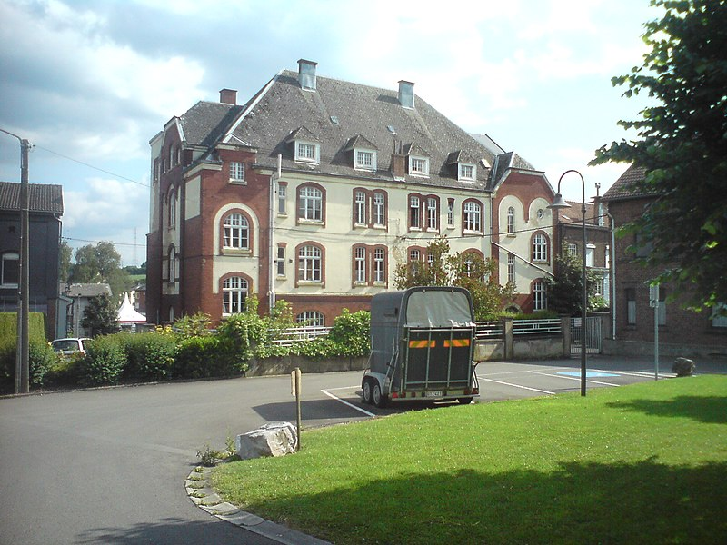 Herbesthal (Belgium): Former Post Office of the Deutsche Reichsport