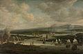 Het verbranden van de Engelse vloot bij Chatham, juni 1667, tijdens de Tweede Engelse Zeeoorlog (1665-1667) Rijksmuseum SK-A-1393.jpeg