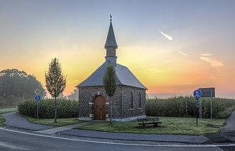 Dülmen - Saint John of Nepomuk chapel, Hiddingsel, Dülmen, North Rhine-Westphalia, Germany