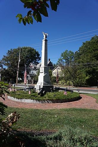 Hightstown, New Jersey - The Hightstown Civil War Memorial