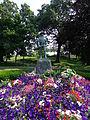 Hiker at Oscar C Wallace Park in Malden MA.JPG