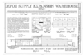 Hill Field, Depot Supply Expansion Warehouse, 7513 Fifth Street, Layton, Davis County, UT HAER UTAH,6-LAY.V,2AC- (sheet 1 of 2).png
