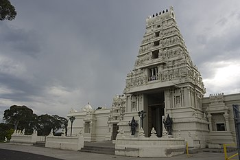 English: Hindu temple at Helensburgh