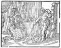 Hipparchia and Crates - Proefsteen van de Trou-ringh - 1730 version.png
