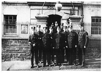 West Midlands Police - Historical image of Sedgley police station